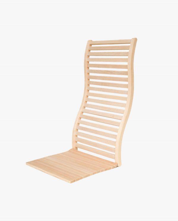 Luxe, ergonomische rugleuning voor banya/sauna