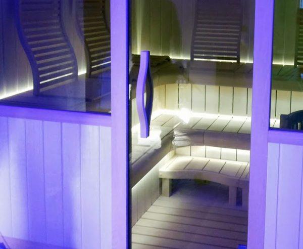 Ergonomische deurklink voor de banya/sauna (bewerking: geolied)