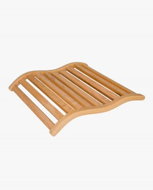 Luxe, ergonomische hoofdsteun voor de banya/sauna (bewerking: geolied)